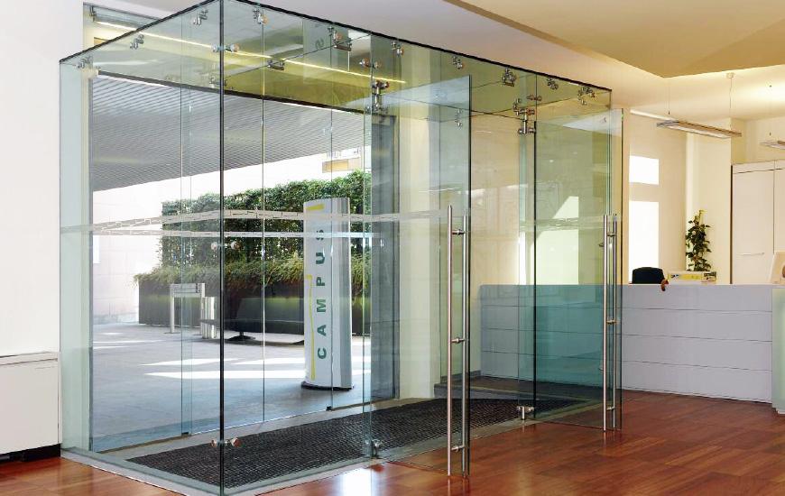 Porte in vetro scorrevoli e ante - SERTEK Tolentino Macerata